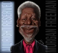 ilCaricaturista.it_caricatura_morgan_freeman