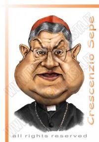 ilCaricaturista.it_caricatura_cardinale_crescenzio_sepe