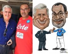 ilCaricaturista.it_CARICATURA MASTELLONE + SARRI